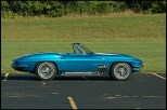 side view of 63 Corvette