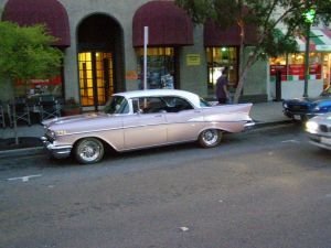 57 Chevy 4 door coupe