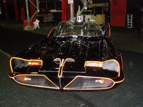 Fronte end of Batmobile
