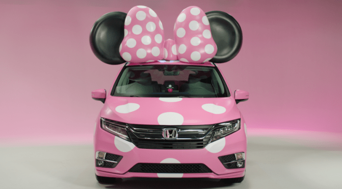 Honda's Minnie Van Is Pink Cuteness