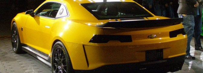 Bumble Bee Camaro Tire with Hollywood Magic