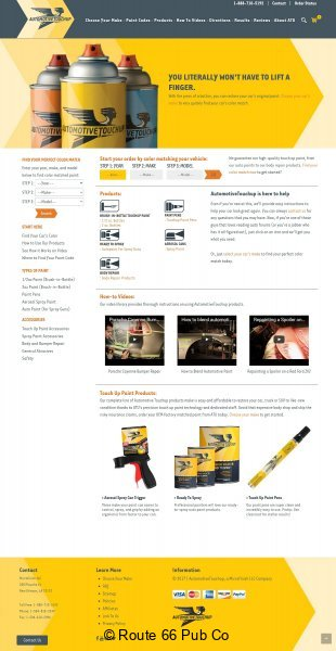 AutomotiveTouchup-Webpage