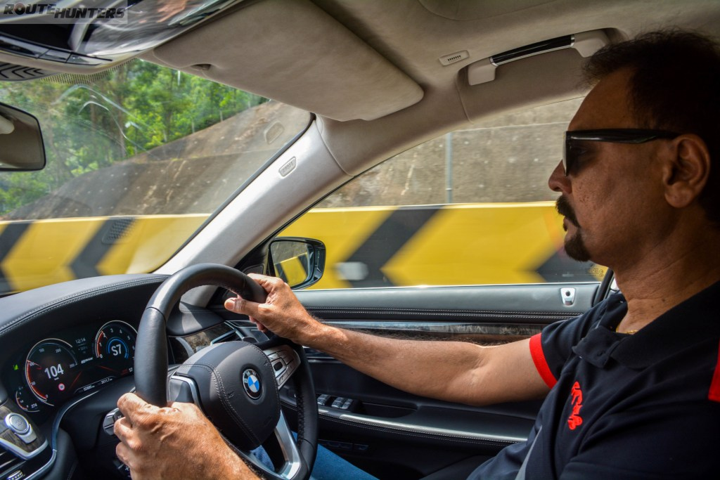 Karamjit Singh, World Rally Champion, still obeys the road rules while on our highways.