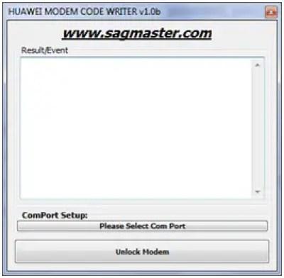 Huawei modem code writer by segamaster