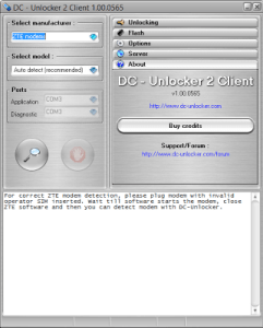 DC Unlocker cracked unlimited credits
