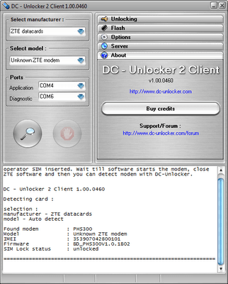 Download new dc-unlocker client software v1. 00. 1018 latest free.