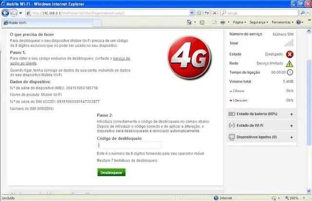 Vodafone R215 unlock