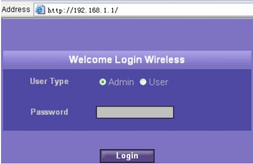 Login to Optus E960 router
