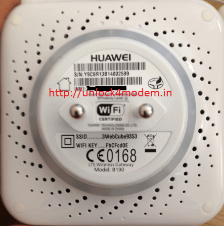 Huawei B190 LTE Wireless Gateway