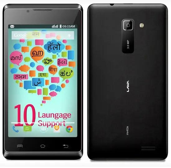 Lava Iris 402e Dual SIM Android Smartphone