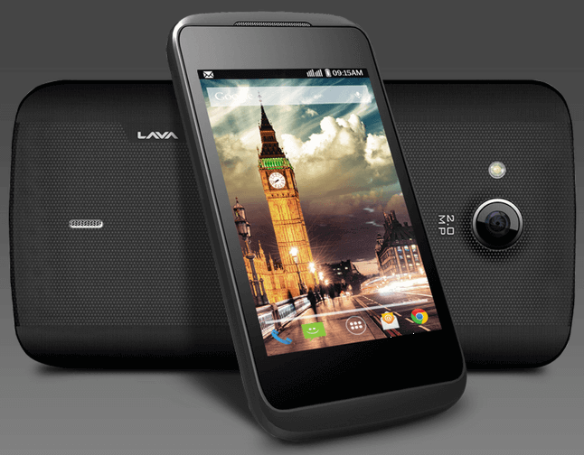 Lava 3G 412 Smartphone with Dual-Core SoC in India
