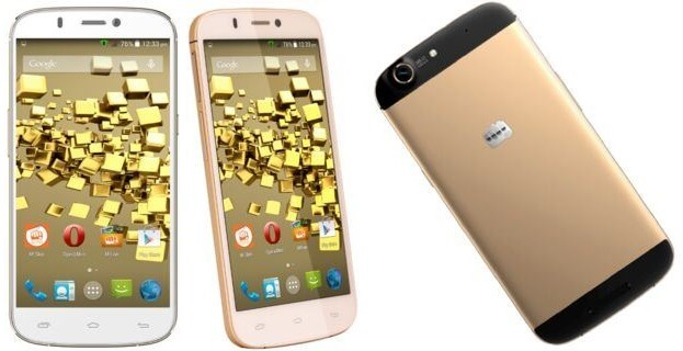 Micromax Canvas Gold A300 Android Smartphone