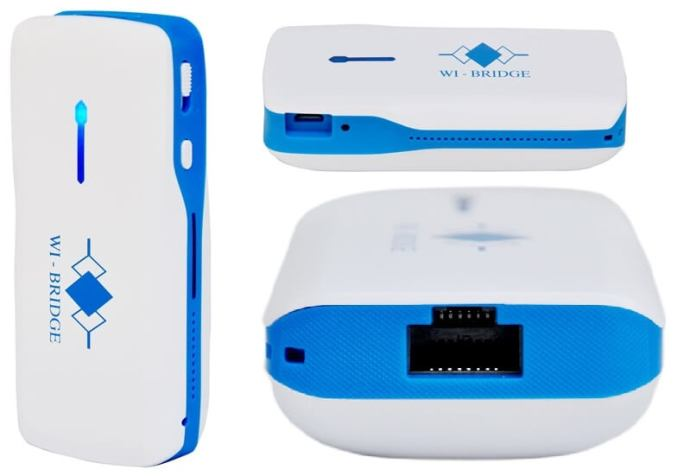 Wi-Bridge WR3G050-01 3G Wireless Router with Battery Bank