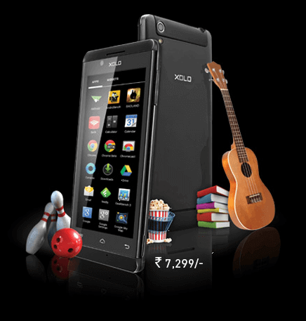 Xolo A700s Listed Officially in Indian Website with a tag Price Rs 7299