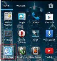 Launch Xolo Care App