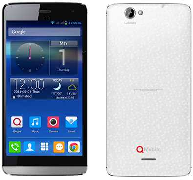 QMobile i12 Dual SIM Smartphone in Pakistan
