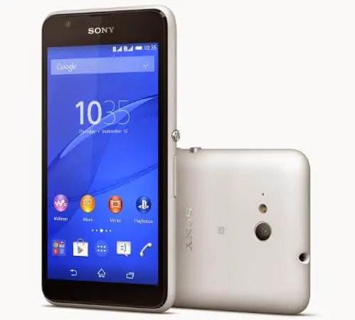 Sony Xperia E4g - White