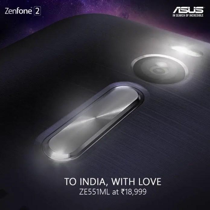 Asus ZenFone 2 with 4GB RAM