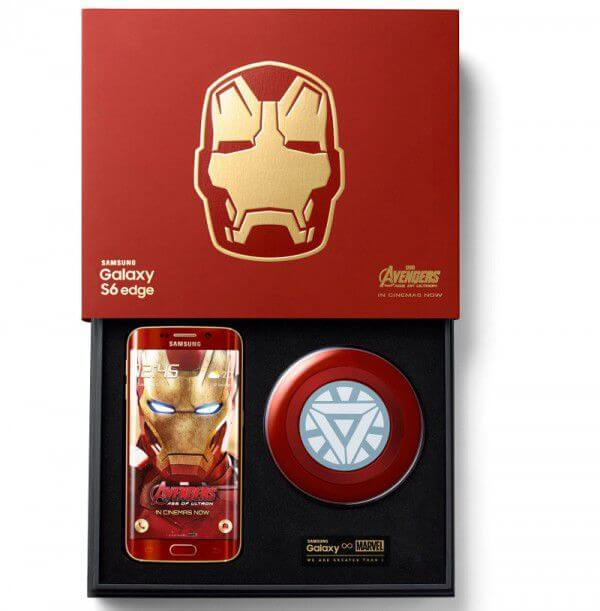 Samsung unleashes galaxy s6 edge iron man limited edition.