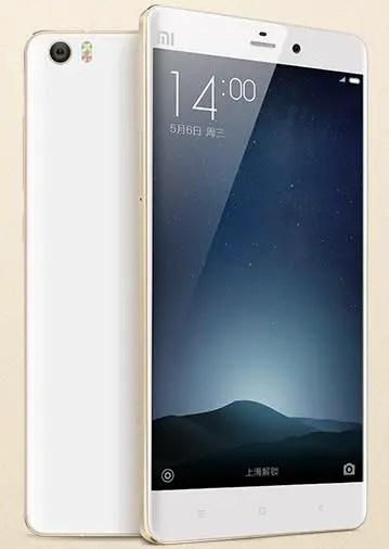 Xiaomi Mi Note Pro in China