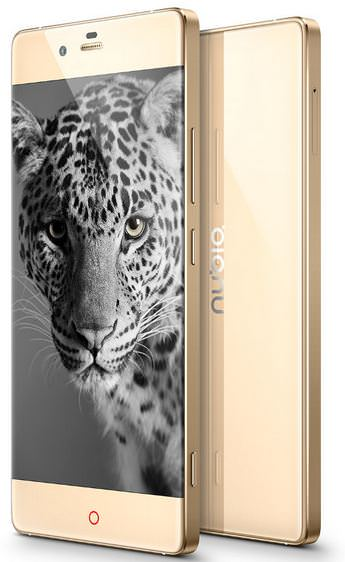 ZTE Nubia Z9 - Front and Back