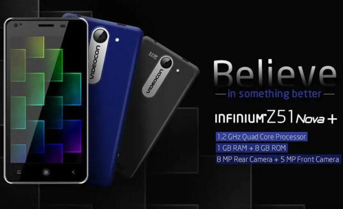 Videocon Infinium Z51 Nova Plus