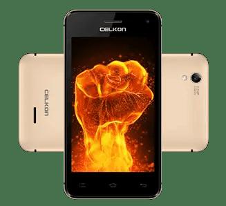 Celkon Q3K Power - front back