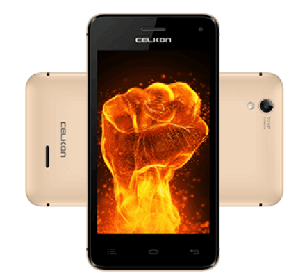 Celkon Q3K Power - front back