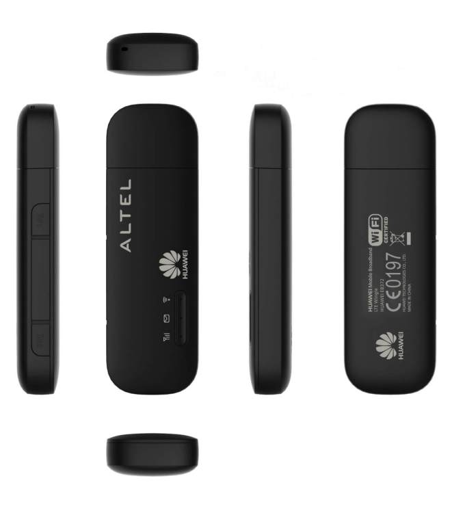 Download all types of firmware and WebUI of Huawei E8372h modem