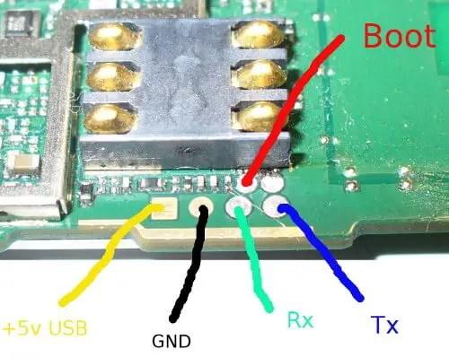 E3372s boot pin