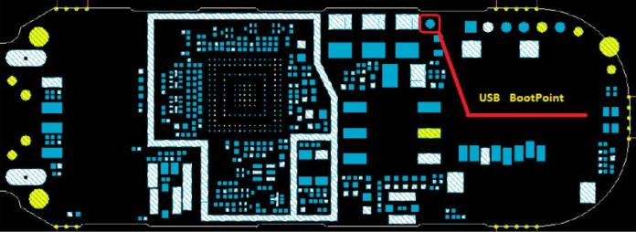 Huawei E171 Boot Pin