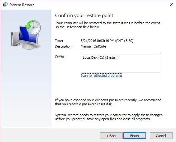 confirm-system-restore-point