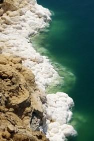 increadible white salty coast
