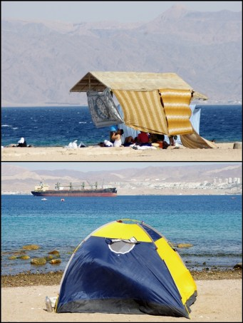 Ways of spending time on a beach and protection aganist strong sun