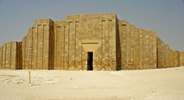 Entrance to the Pyramid of Djoser