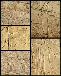 well preserved hieroglyphs