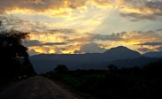 sunset in Omo Valley