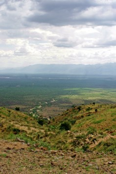 view on Omo Valley