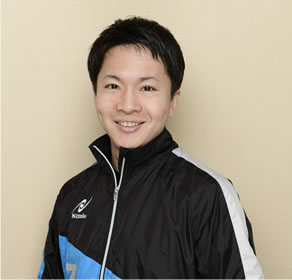 伊藤選手松崎太佑コーチ