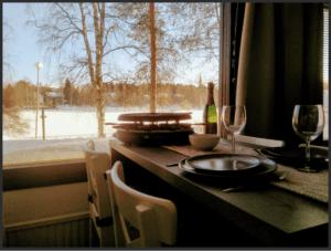 Logement de vacance avec sauna à Rovaniemi
