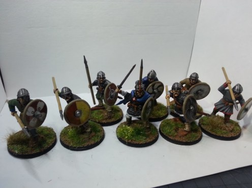 Anglo Saxon Warriors 1