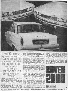 DSC_0039 Rover 2000 Ad Rover Australia 17-6-1968