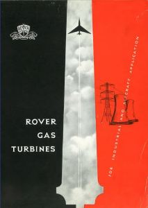 Rover Gas Turbines Brochure Cover Publication 572A
