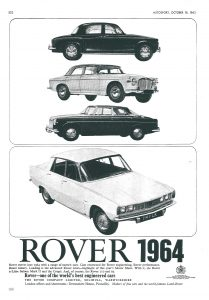 DSC_0047 Rover 2000 110 95 3 Litre Mk2 Saloon & Coupe Ad Autosport 18-10-1963