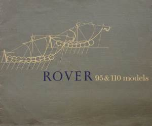 Rover 95 & 110 Brochure Cover 1963