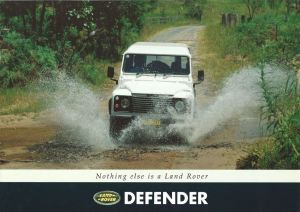 Land Rover Defender Australia brochure cover 1-93