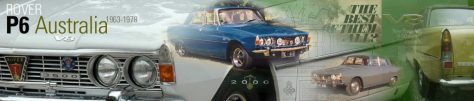 Rover P6 Australia Website Header 2