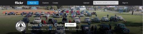 ROC NSW ACT Flickr Photostream Banner Header