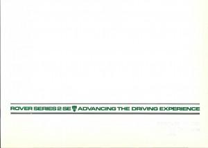 DSC_0001 Rover 3500 SE & VDP Australia July 1983