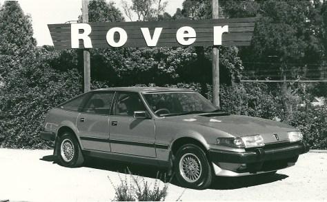DSC_0012 1985 Rover 3500 SE Bowral 21-12-1985